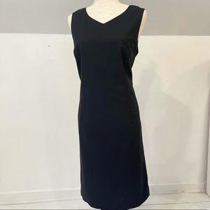 Pendleton black sleeveless dress size 14
